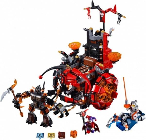 Купить Конструктор Lego Nexo Knights Лего Нексо Джестро-мобиль в интернет магазине игрушек и детских товаров