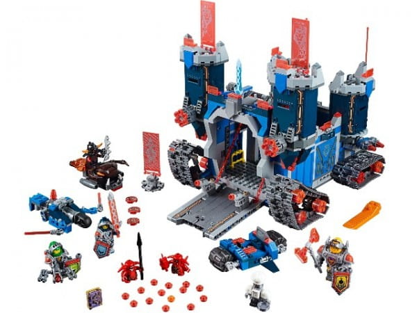 Купить Конструктор Lego Nexo Knights Лего Нексо Фортрекс - мобильная крепость в интернет магазине игрушек и детских товаров