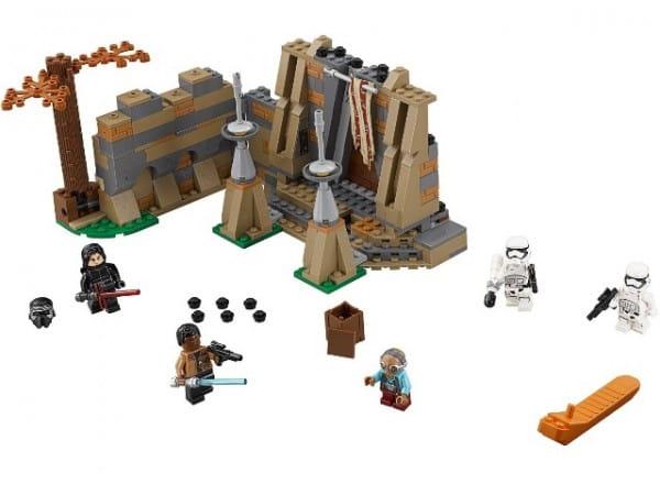 Конструктор Lego 75139 Star Wars Лего Звездные войны Битва на планете Такодана