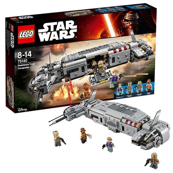 Конструктор Lego 75140 Star Wars Лего Звездные войны Военный транспорт Сопротивления