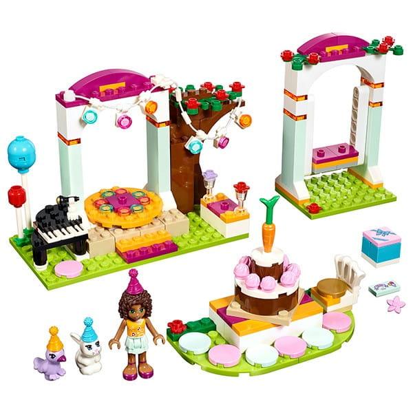 Купить Конструктор Lego Friends Лего Подружки День рождения в интернет магазине игрушек и детских товаров