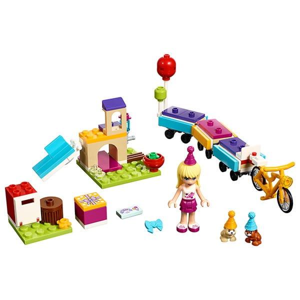 Купить Конструктор Lego Friends Лего Подружки День рождения - велосипед в интернет магазине игрушек и детских товаров