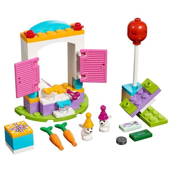 Купить Конструктор Lego Friends Лего Подружки День рождения - магазин подарков в интернет магазине игрушек и детских товаров