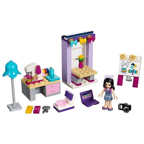 Купить Конструктор Lego Friends Лего Подружки Творческая мастерская Эммы в интернет магазине игрушек и детских товаров