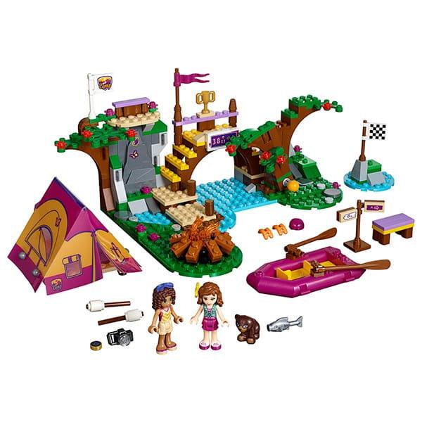 Купить Конструктор Lego Friends Лего Подружки Спортивный лагерь - сплав по реке в интернет магазине игрушек и детских товаров