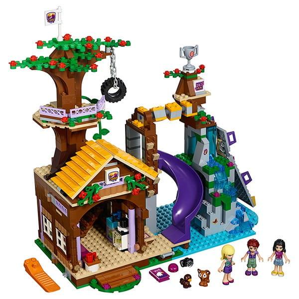 Купить Конструктор Lego Friends Лего Подружки Спортивный лагерь - дом на дереве в интернет магазине игрушек и детских товаров