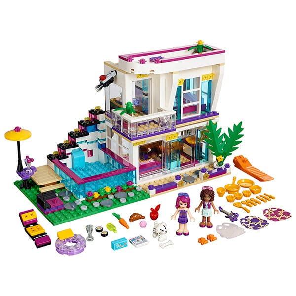 Купить Конструктор Lego Friends Лего Подружки Поп-звезда - дом Ливи в интернет магазине игрушек и детских товаров