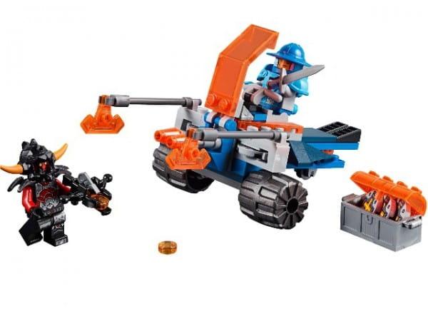 Купить Конструктор Lego Nexo Knights Лего Нексо Королевский боевой бластер в интернет магазине игрушек и детских товаров
