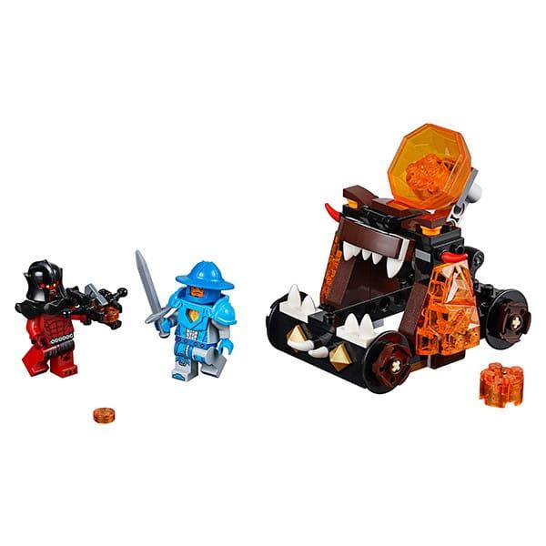 Купить Конструктор Lego Nexo Knights Лего Нексо Безумная катапульта в интернет магазине игрушек и детских товаров