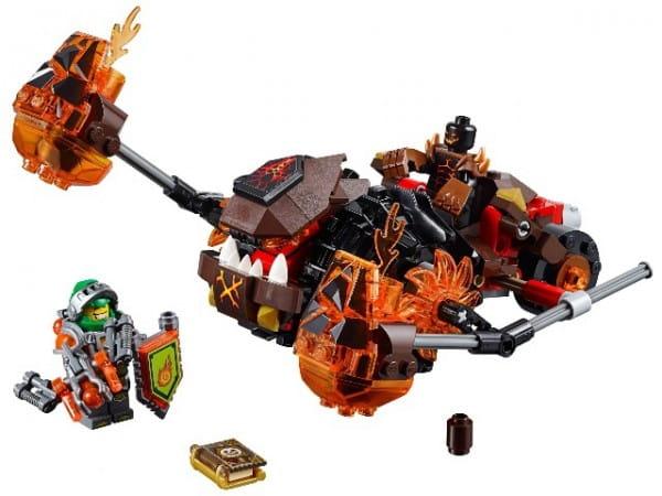 Купить Конструктор Lego Nexo Knights Лего Нексо Лавинный разрушитель Молтора в интернет магазине игрушек и детских товаров