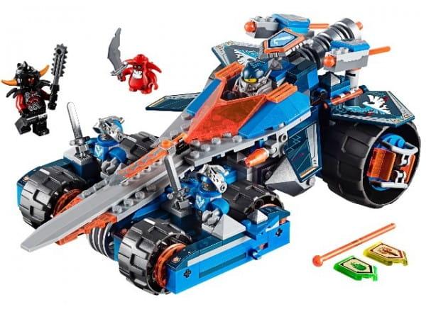 Купить Конструктор Lego Nexo Knights Лего Нексо Устрашающий разрушитель Клэя в интернет магазине игрушек и детских товаров