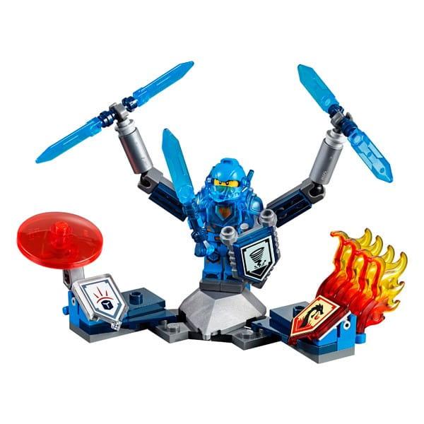 Купить Конструктор Lego Nexo Knights Лего Нексо Клэй – Абсолютная сила в интернет магазине игрушек и детских товаров