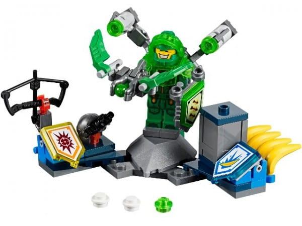 Купить Конструктор Lego Nexo Knights Лего Нексо Аарон – Абсолютная сила в интернет магазине игрушек и детских товаров