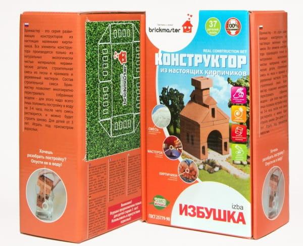 Купить Конструктор из кирпичиков Brickmaster Избушка - 37 деталей в интернет магазине игрушек и детских товаров