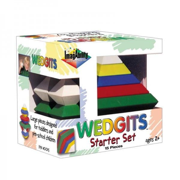 Конструктор Wedgits Starter - 15 деталей