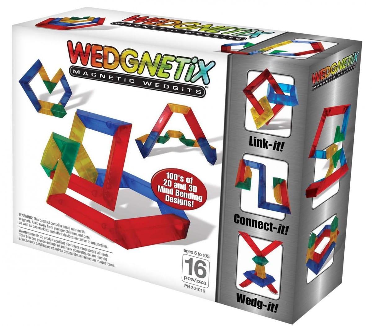 Конструктор Wedgits 351016 Wedgnetix - 16 деталей