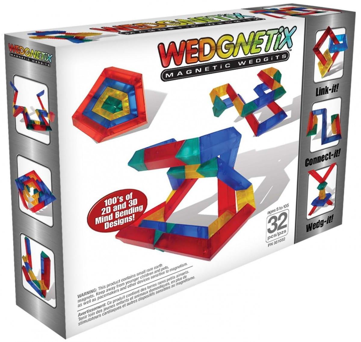 Конструктор Wedgits 351032 Wedgnetix - 32 детали