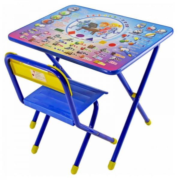 Купить Комплект детской мебели Дэми Электроник (синий) в интернет магазине игрушек и детских товаров
