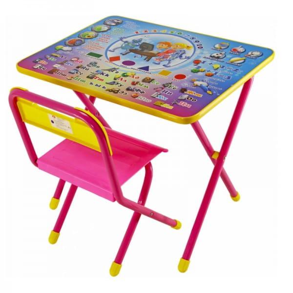 Купить Комплект детской мебели Дэми Электроник (розовый) в интернет магазине игрушек и детских товаров