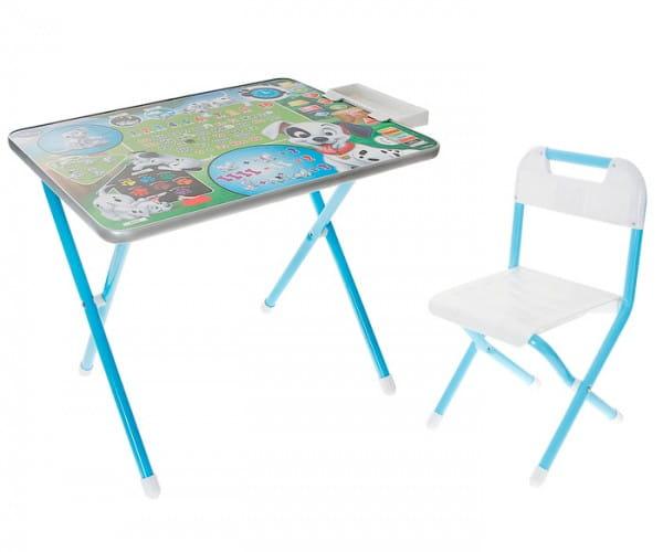 Купить Комплект детской мебели Дэми Далматинцы (голубой) в интернет магазине игрушек и детских товаров