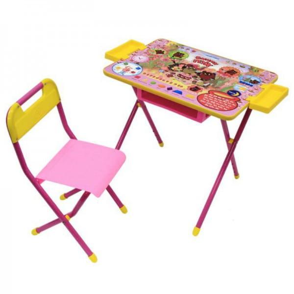 Комплект детской мебели Дэми Винни-Пух 2 (розовый)