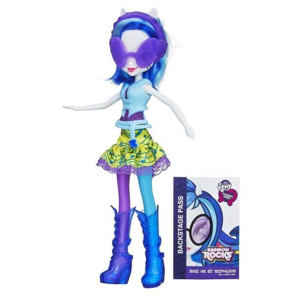 Кукла My Little Pony Equestria Girls DJ Диджей Pon-3 - 23 см (Hasbro)