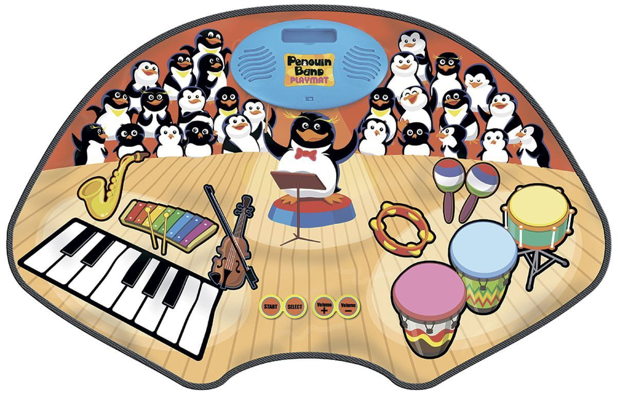 Звуковой коврик Знаток SLW9880 Хор Пингвинов
