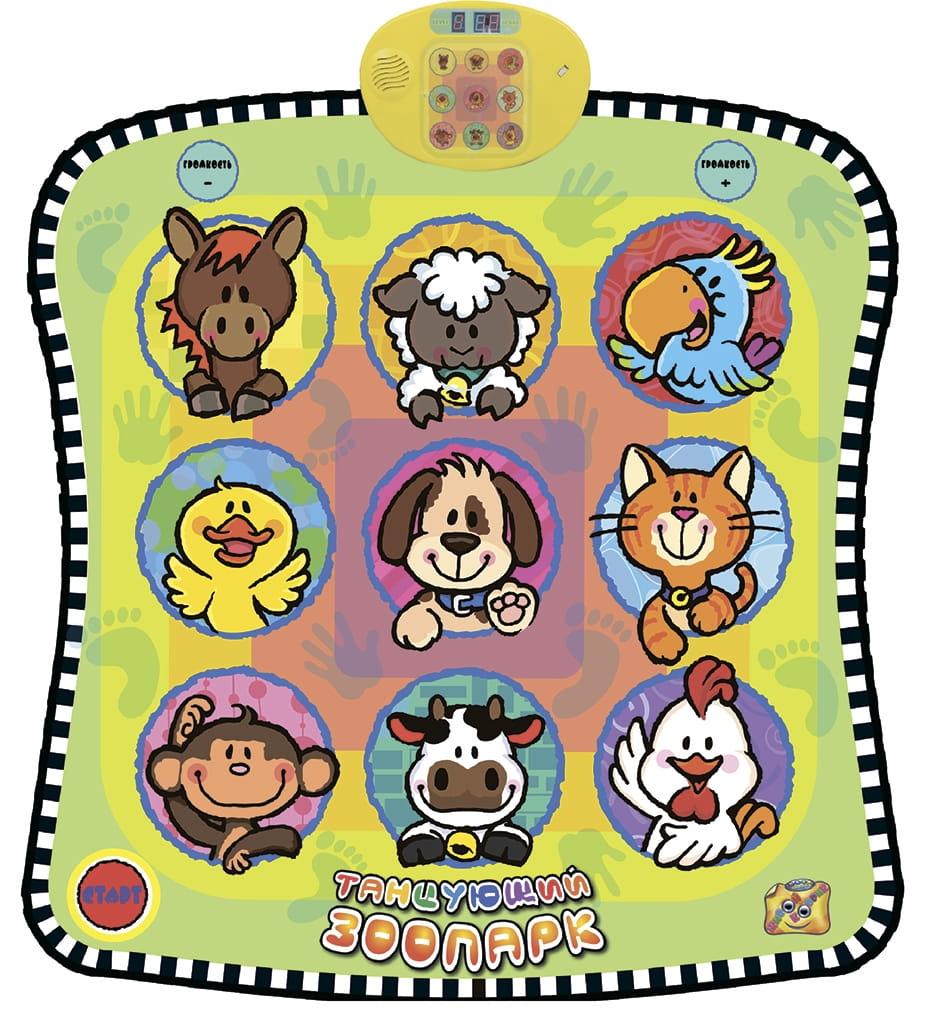 Звуковой коврик Знаток Танцующий Зоопарк - Другие интерактивные игрушки