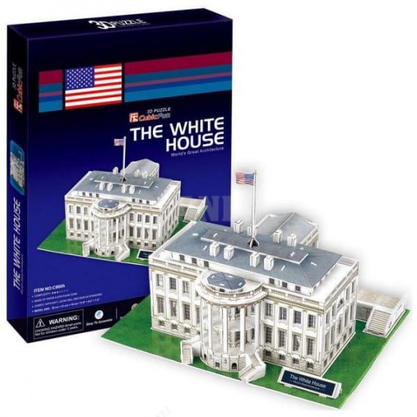 Объемный пазл CubicFun C060h Белый дом в Вашингтоне