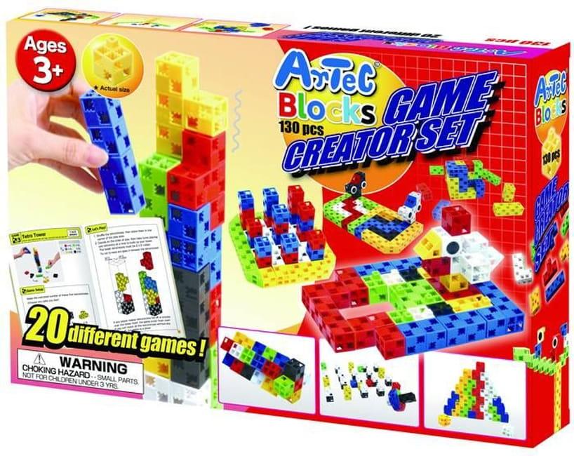 Конструктор Artec Game creator 20 логических игр - 130 деталей (Знаток)
