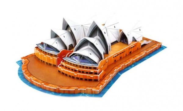 Объемный 3D пазл CubicFun C067h Сиднейский Оперный театр (Австралия)