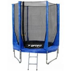 Батут Optifit Jump 6FT - синий (6 футов)