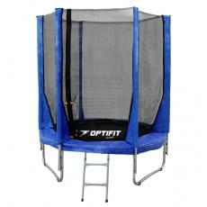 Батут Optifit Jump 8FT - синий (8 футов)