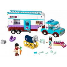 Конструктор Lego Friends Лего Подружки Ветеринарная машина для лошадок