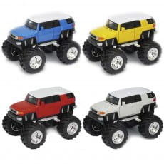 Машинка Welly Toyota FJ Cruiser Big Wheel 1:34