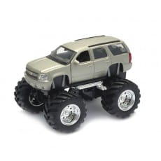 Машинка Welly Chevrolet Tahoe Big Wheel 1:34