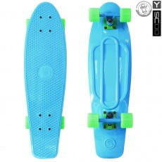 Скейтборд Y-Scoo Fishskateboard 27 дюймов - Blue-green