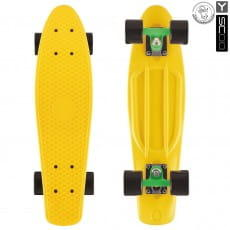 Скейтборд Y-Scoo Fishskateboard 27 дюймов - Green-black