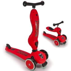 Самокат с сиденьем Scoot and Ride Highway Kick 1 (Seat) - Red