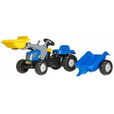 Педальный трактор Rolly Toys Kid New Holland T 7040