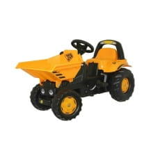 Педальный трактор Rolly Toys Dumper Kid JCB