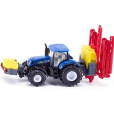 Трактор Siku New Holland с опрыскивателем Kverneland 1:87