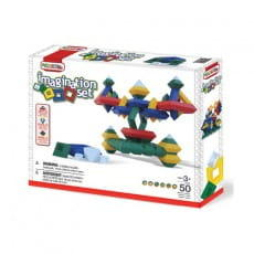 Конструктор Wedgits Imagination set - 50 деталей